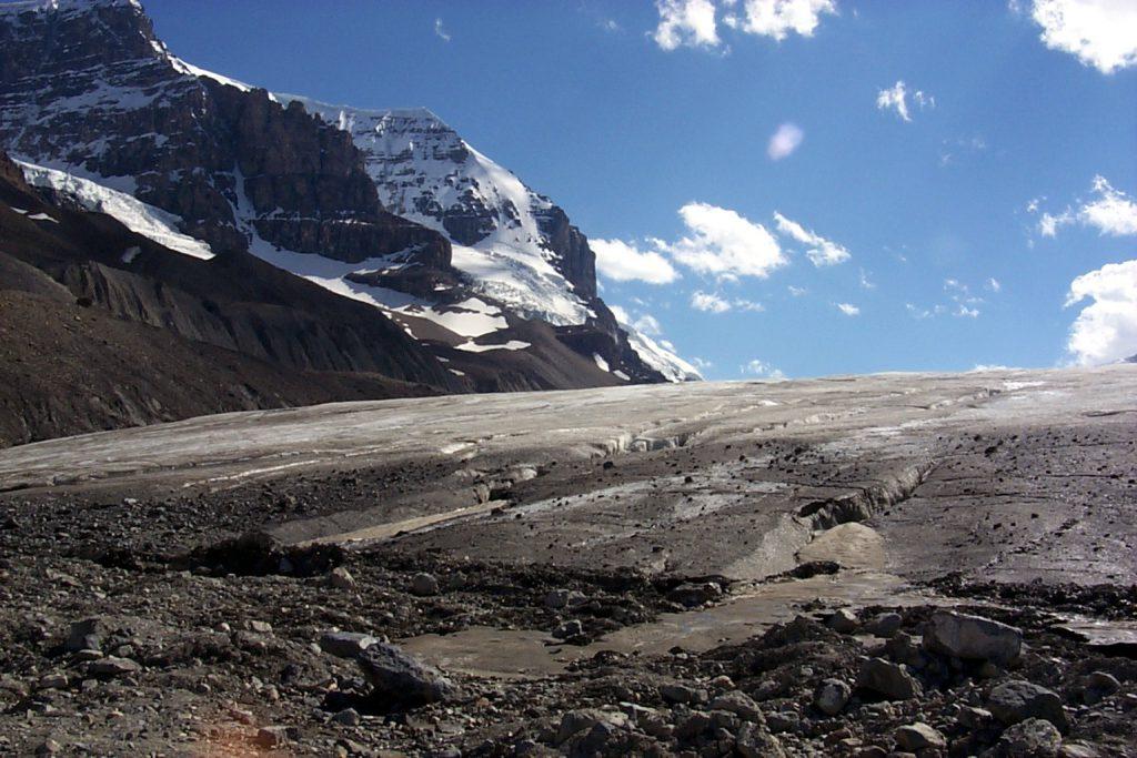 The Columbia Ice Field.