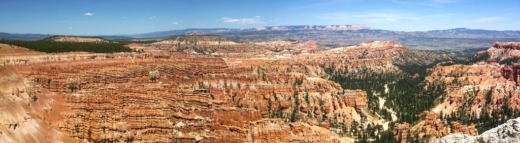One of the most famous views at Bryce -- Inspiration Point in the heart of the canyon. The density of hoodoos here is incredible.