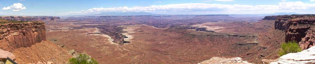 Looking south to the Colorado River basin.