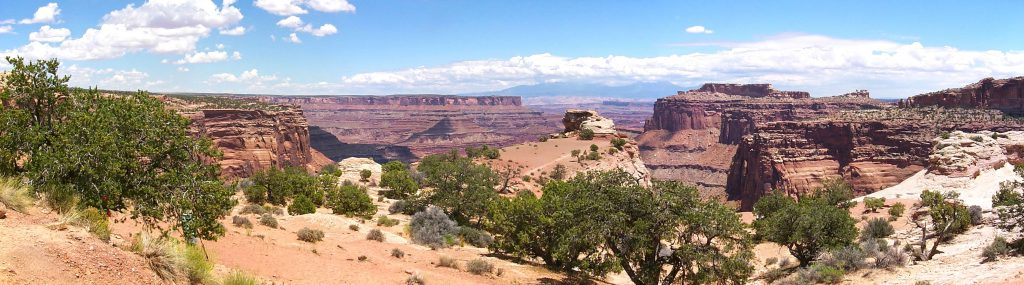 A final view to the South and east (near Dead Horse Point State Park).