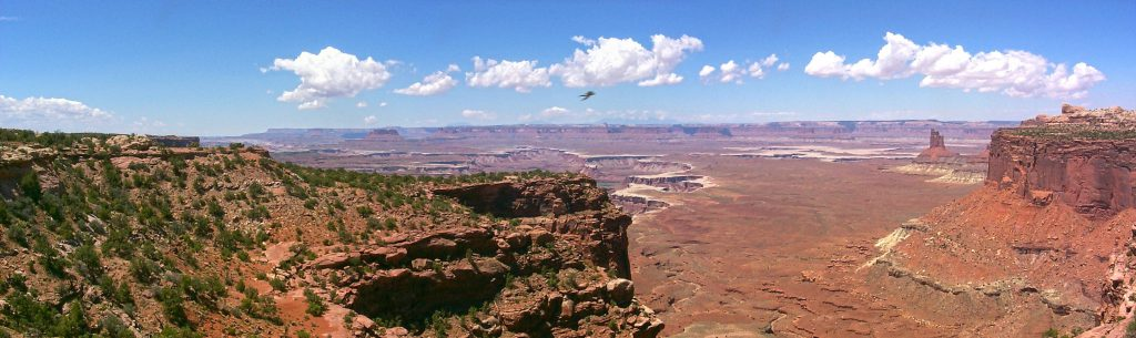 A view north towards the Green River Basin.
