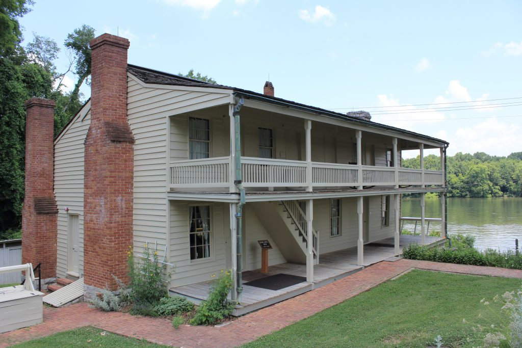 This is the house made famous by the terms of surrender offered by U.S. Grant to the Confederate defenders of Fort Donelson. After this time, Grant's initials were quipped to mean 'Unconditional Surrender'.