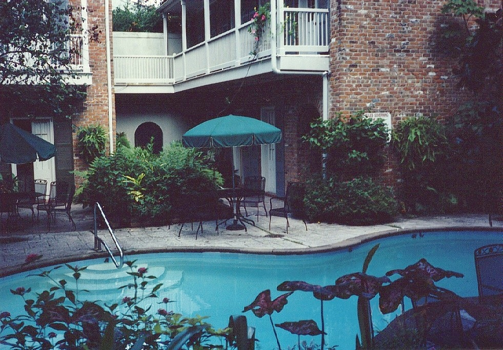 Our Hotel in the French Quarter