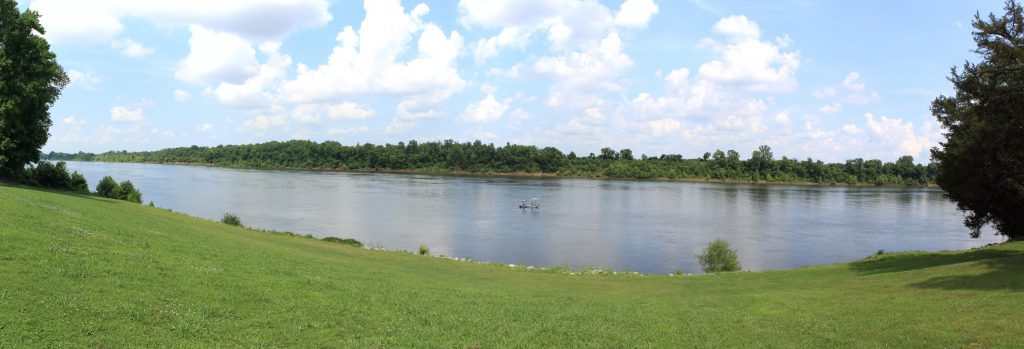 This is Pittsburg Landing where Grant came ashore to launch his attack against Corinth (another important railroad concentration for the Confederacy).